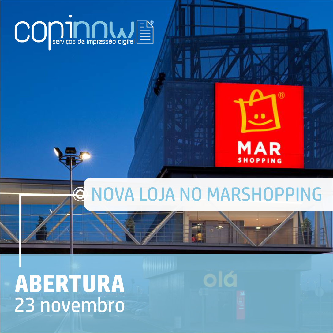 Copinow Abre Nova Loja No Centro Comercial Mar Shopping Copinow